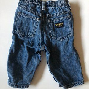OshKosh B'gosh Baby Boys Blue Denim Jeans 6-9 M